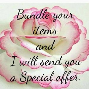 Bundle your item for a Special offer